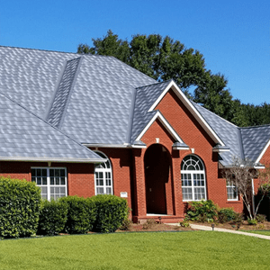 EDCO Roofing Material on a red brick home